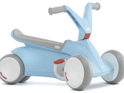מכונית פדלים GO2 בצבע כחול בהיר