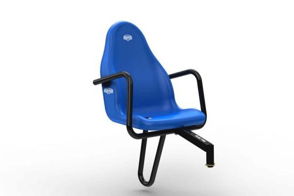 כסא נוסף למכונית פדלים בצבע כחול
