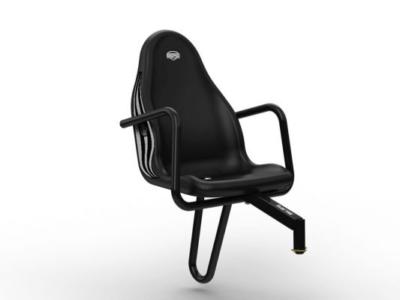 כסא נוסף למכונית פדלים בצבע שחור