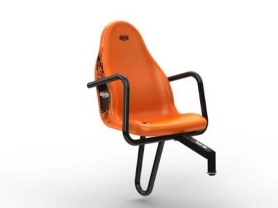 כסא נוסף למכונית פדלים בצבע כתום