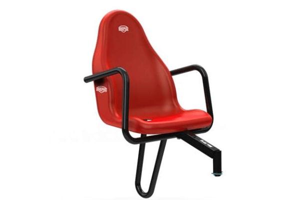 כסא נוסף למכונית פדלים בצבע אדום
