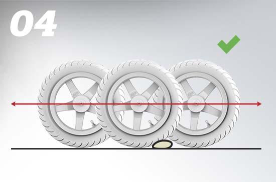 גלגלים פנאומטיים