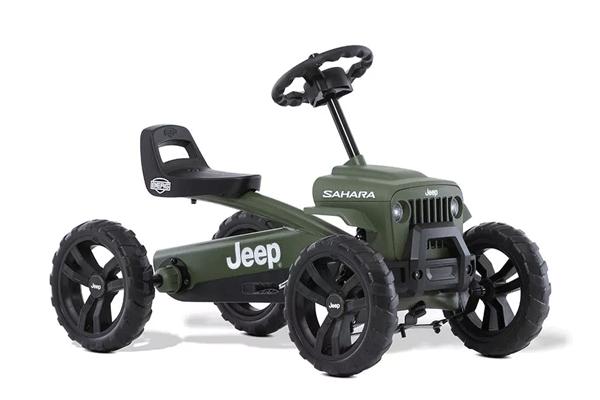 מכונית פדלים חשמלית ג'יפ סהרה