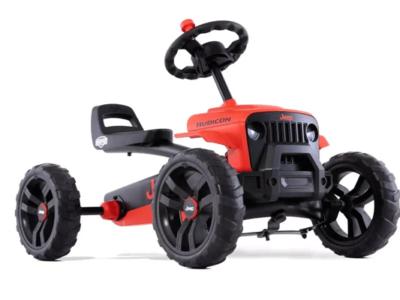 מכונית פדלים חשמלית ג'יפ רוביקון