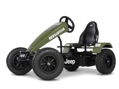 מכונית פדלים חשמלית ג'יפ דגם Jeep Revolution
