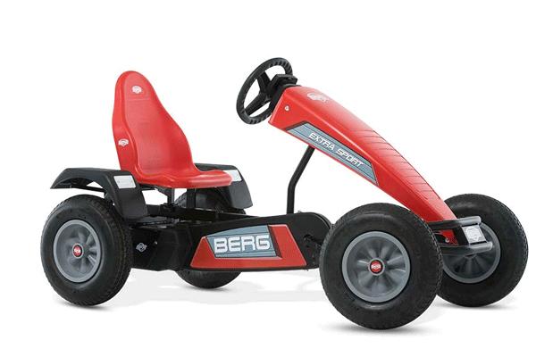 מכונית פדלים אדומה דגם ברג קרוז
