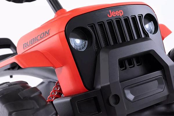 מכונית פדלים ג'יפ רוביקון צילום קדמי