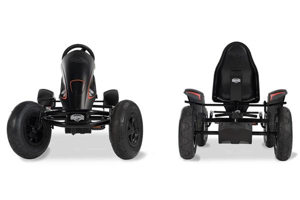 מכונית פדלים חשמלית דגם ברג אי במהדורה שחורה