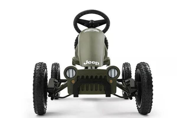 מכונית פדלים ג'יפ צילום קדמי